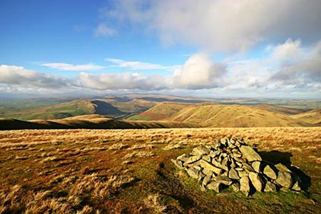 Photo from the walk - Fell Head & The Calf, from Howgill, near Sedbergh