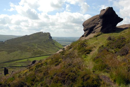 Photo from the walk - The Roaches & Lud's Church