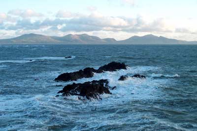 Rocks of Ynys y Clochydd & the Eifls