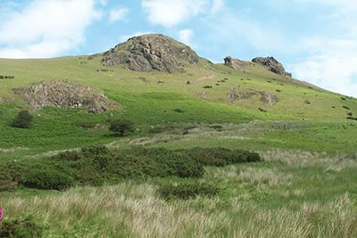 Photo from the walk - Caer Caradoc & The Lawley from Church Stretton