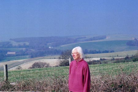 Photo from the walk - Cissbury Ring & Chanctonbury Ring from Washington