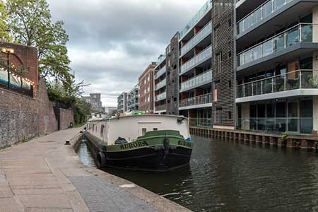 Photo from the walk - Limehouse to Little Venice by the Regent's Canal.