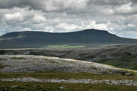 Pen-y-ghent from Long Scar