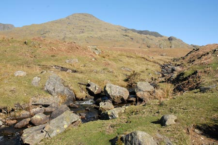 Photo from the walk - The Old Man of Coniston & Dow Crag from Torver