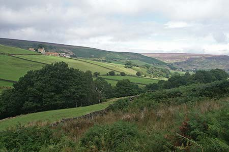 Photo from the walk - Esklets and Rosedale Head from Westerdale
