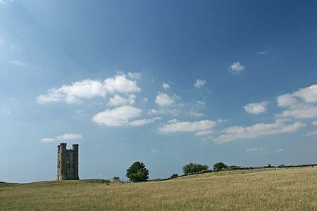 Photo from the walk - The Broadway Tower from Broadway