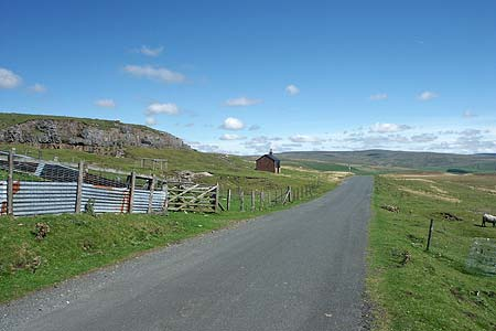 The road from Cow Green to langdon Beck