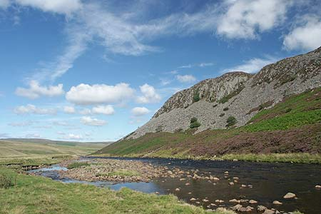 The River Tees and Cronkley Scar