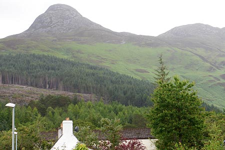 Photo from the walk - Pap of Glencoe from Glencoe Village (Route C)