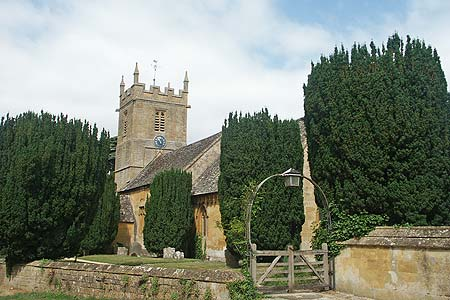Photo from the walk - Temple Guiting & Cutsdean from Stanway