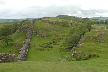 Hadrian's Wall - looking east from Walltown