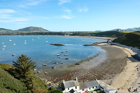 Photo from the walk - Porth Dinllaen from Morfa Nefyn