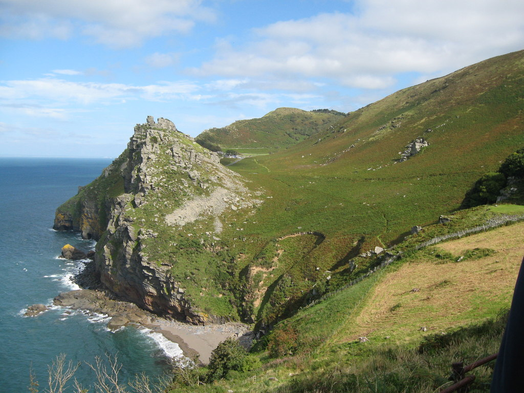 Photo from the walk - Valley of Rocks from Lynton