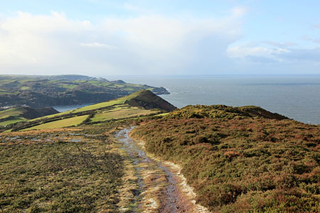 Photo from the walk - Great Hangman Hill from Combe Martin