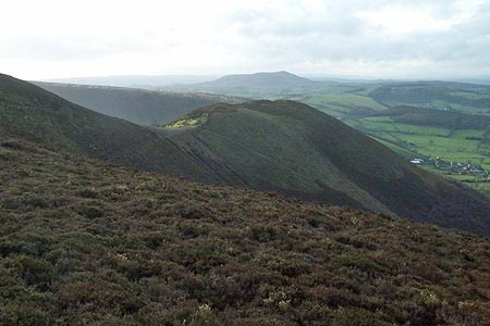 Green Hill on the west side of the Stiperstones