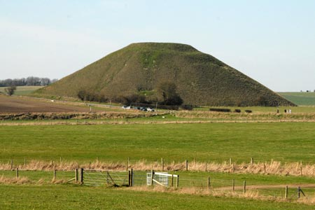 Silbury Hill near Avebury
