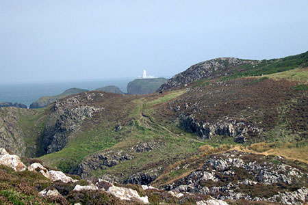 Photo from the walk - Strumble Head from Garn Fawr