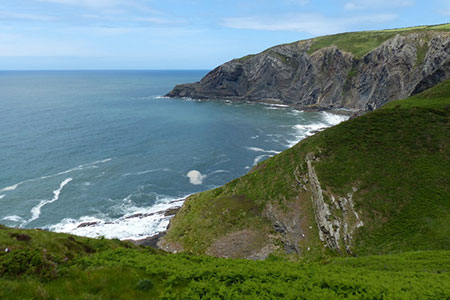 Photo from the walk - Cwm yr Esgyr & Cemaes Head from Poppit Sands