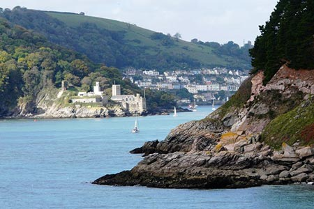 Photo from the walk - Kingswear from Coleton Fishacre