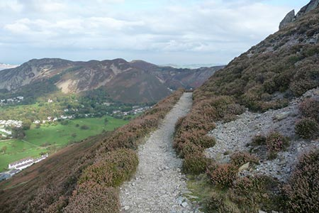Photo from the walk - Foel Lus & Jubilee Path from Sychnant Pass