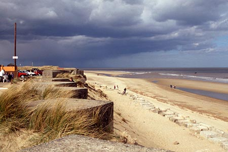 Winterton-on-Sea Beach, Norfolk