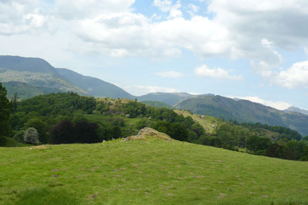 Photo from the walk - Loughrigg Fell from Skelwith Bridge