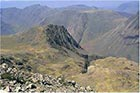 Photo from the walk - Scafell Pike from Seathwaite via Corridor Route